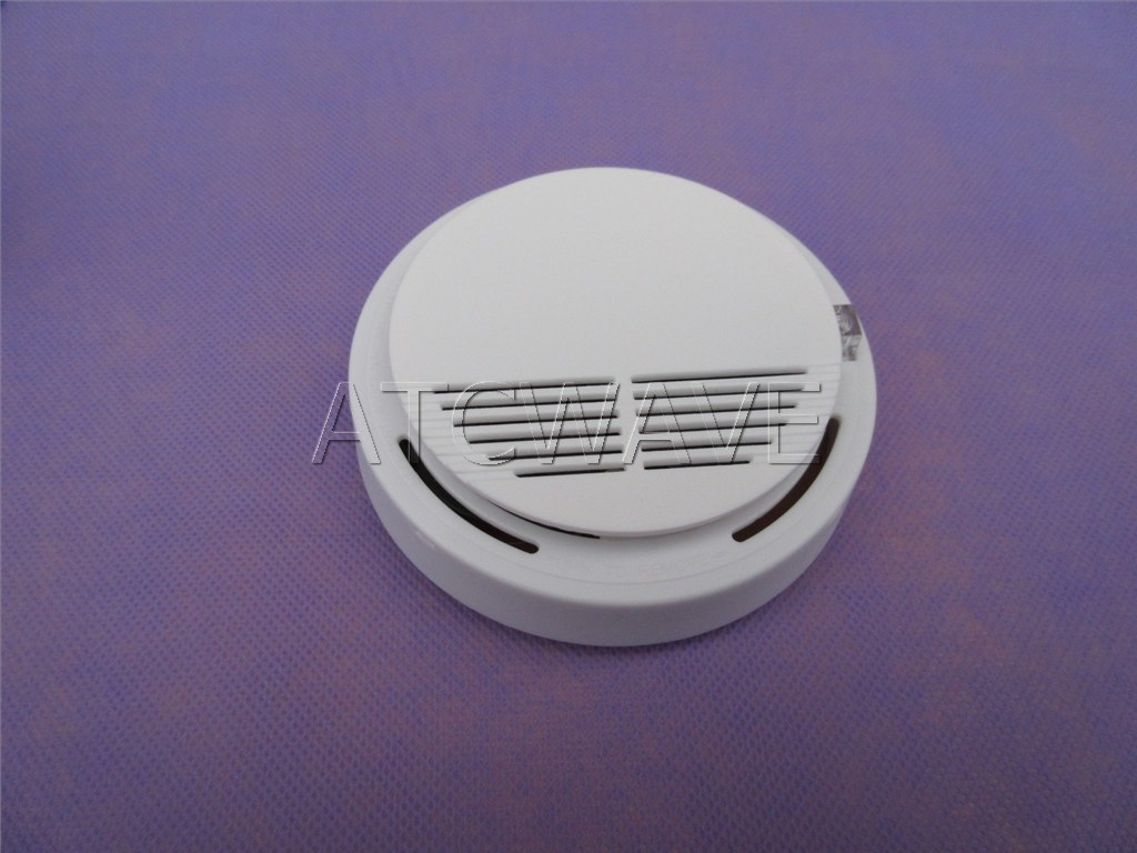 433mhz wireless smoke sensor detector home security alarm system with battery ebay. Black Bedroom Furniture Sets. Home Design Ideas