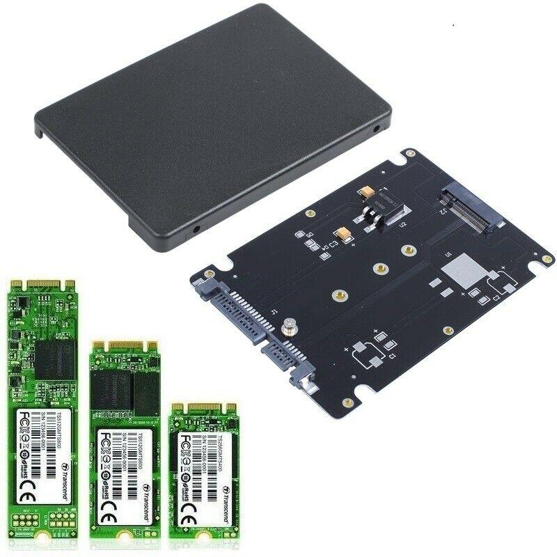 SATA SSD to 2.5 inch SATA Adapter Card 8mm Thickness Enclosure M.2 NGFF